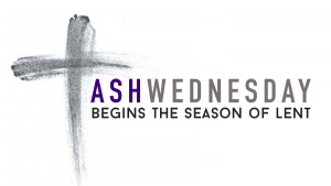 Ash Wednesday Service Feb 17
